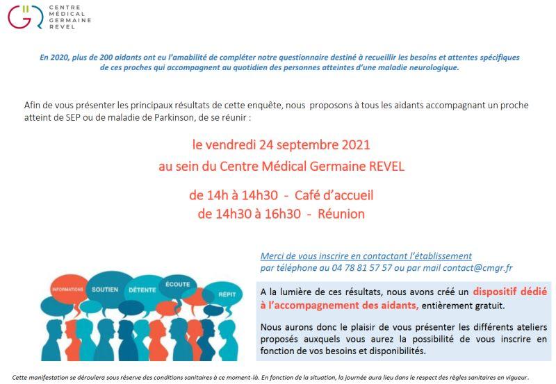 24/09/2021-Réunion d'information aux aidants